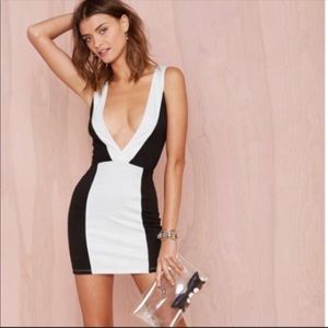 NEW NASTY GAL BOND MINI DRESS
